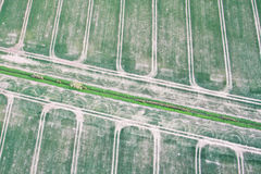 Crop fields Royalty Free Stock Images
