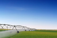 Crop Irrigation Royalty Free Stock Photos