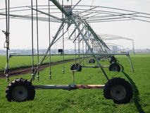 Crop irrigation system, Australia Royalty Free Stock Image