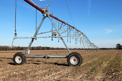 Crop irrigation system Stock Images