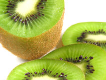 Crop of kiwis Royalty Free Stock Photography