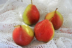 Crop pears Royalty Free Stock Photography
