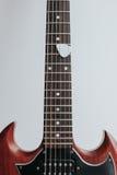 Crop shot of guitar neck Stock Photo