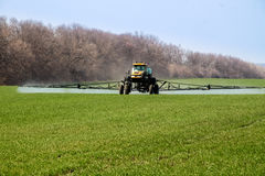 Crop sprayer Stock Image