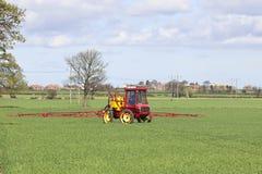 Crop spraying Royalty Free Stock Photography