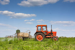 Crop Spraying Royalty Free Stock Images