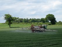 Crop Spraying C2 Stock Image