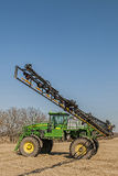 Crop spraying machinery,fertilize Stock Image