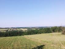 cropland Arkivfoto