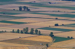 Croplands στην Ελλάδα Στοκ φωτογραφίες με δικαίωμα ελεύθερης χρήσης