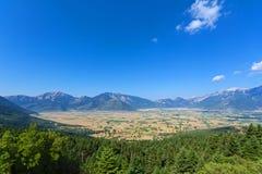Croplands en Grèce Photos libres de droits