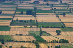 Croplands in Greece Royalty Free Stock Images