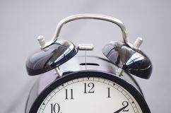 Vintage alarm clock for time management concept Royalty Free Stock Photos