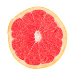 Cropped grapefruit with red flesh Stock Images