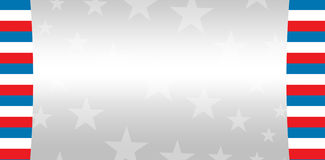 Cropped image of American flag. Against starry background Royalty Free Stock Image