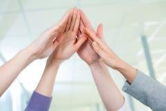 Teamwork and team spirit Stock Images