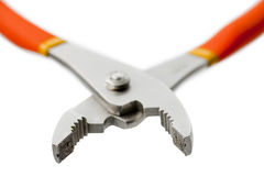 Cropped image of a plier Royalty Free Stock Photos