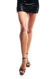 Cropped image of woman legs Royalty Free Stock Images