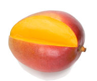 Cropped mango Stock Photo