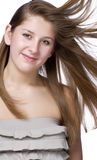 Cropped shoot of beautiful young woman royalty free stock photo