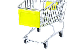 Cropped trolley Stock Images