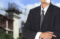 Cropped view of Businessman Royalty Free Stock Photography