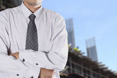 Cropped view of Businessman Stock Photography