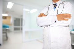 Cropped view of doctor Royalty Free Stock Photography