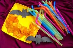 Croquant, puces pour les vacances du ` s d'enfants Photos stock