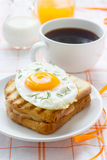 croque madame Obrazy Stock