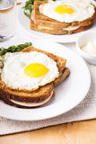 Croque Madame Royalty Free Stock Images