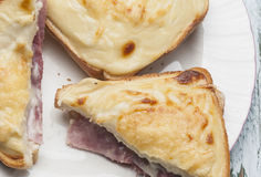 Croque-monsieur   Royalty Free Stock Photos