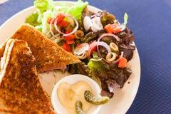Croque Monsieur sandwich Stock Photos