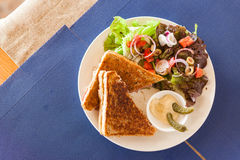 Croque Monsieur sandwich Stock Photography