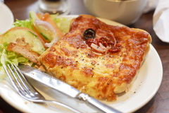 Croque monsieur Stock Images