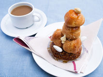 Croquembouche Obrazy Royalty Free