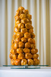 Croquembouche Royalty Free Stock Photography