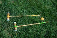 croquet Obraz Royalty Free