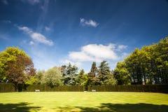 Croquet atrakcyjny kurs zdjęcia royalty free