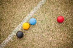 Croquet Equipment Royalty Free Stock Photo