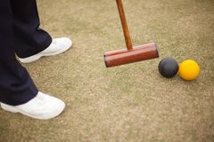 Croquet Equipment Royalty Free Stock Photos