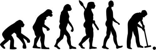 Croquet Evolution Stock Image