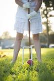 Croquet in het Park Stock Afbeeldingen