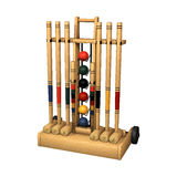 Croquet Stand Royalty Free Stock Image
