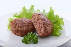 Croquetas de la carne Fotos de archivo