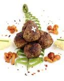 Croquetas de la carne asada Foto de archivo