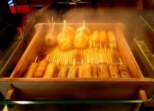 Croquetas de pescados cocidas al vapor Fotos de archivo