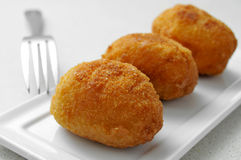 Croquetas, spanish croquettes Royalty Free Stock Image