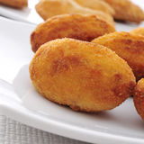 Croquetas, spanish croquettes Royalty Free Stock Images