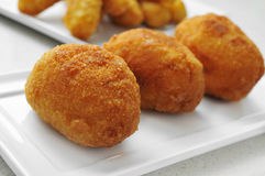 Croquetas, spanish croquettes Royalty Free Stock Photography